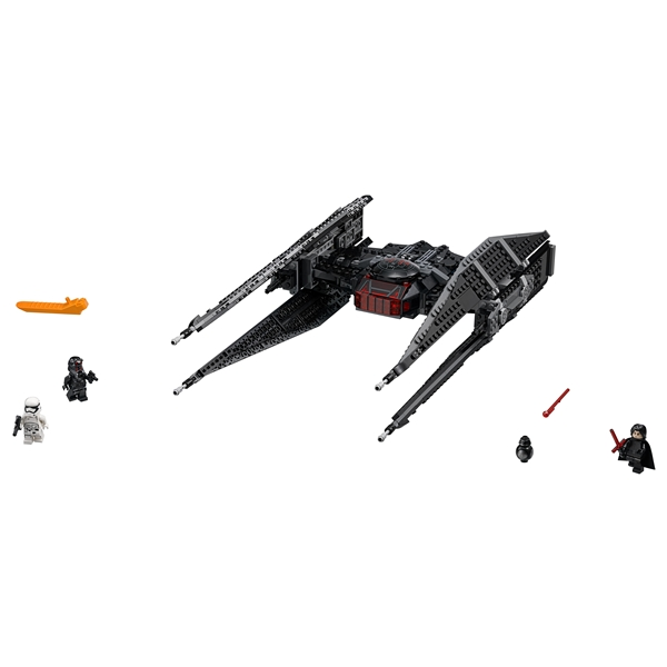 75179 LEGO Star Wars Kylo Ren's TIE Fighter (Bild 3 av 8)