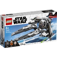 75242 LEGO Star Wars Black Ace TIE Interceptor