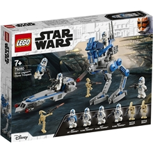 75280 LEGO Star Wars 501st Legion Clone Troopers