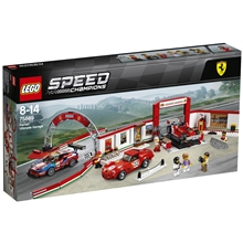 75889 LEGO Speed Ferrari ultimat garage