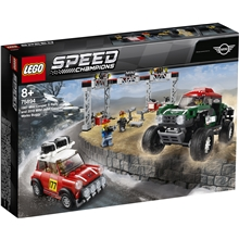 75894 LEGO Speed Mini Cooper Rally & Mini Buggy