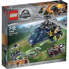 75928 LEGO Jurassic World Blues Helikopterjakt