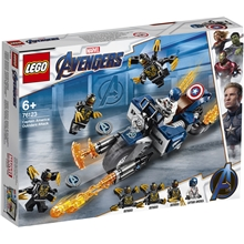 76123 LEGO Super Heroes Captain America Outriders