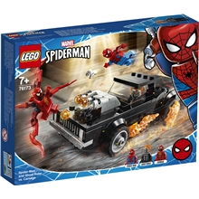 76173 LEGO Marvel SpiderMan & Ghost Rider Carnage