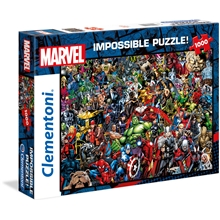 Pussel 1000 bitar Impossible Marvel
