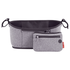 Skip Hop Stroller Organizer Heather Grey