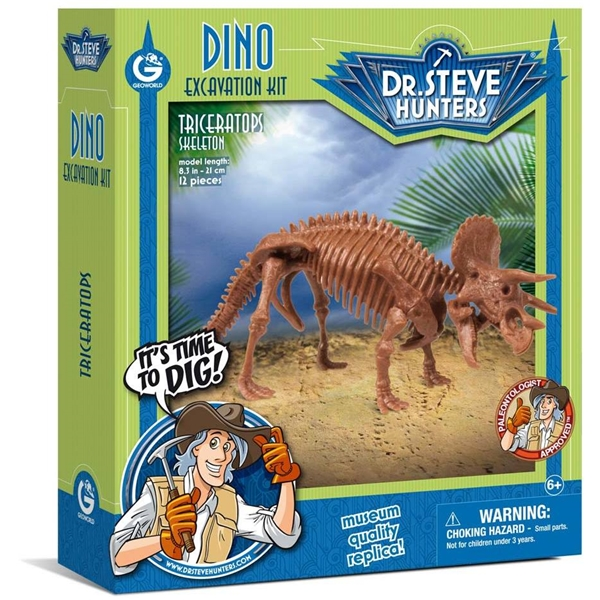 Dino Excavation Kit Triceratops (Bild 1 av 4)