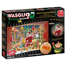 Wasgij Christmas 15 Santa's Treat