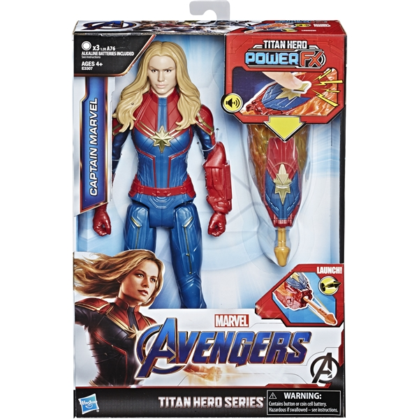 Avengers Titan Hero Power FX Captain Marvel (Bild 1 av 3)