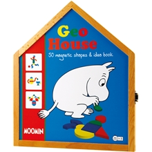 Mumin GeoHouse Magnetic Shapes