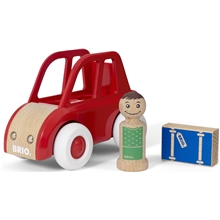 BRIO My Home Town - 30346 Leksaksbil med bagage