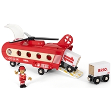 BRIO World - 33886 Transporthelikopter