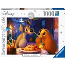 Pussel 1000 Bitar Lady and The Tramp