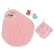 BABY Born Bath Hooded Towel Set