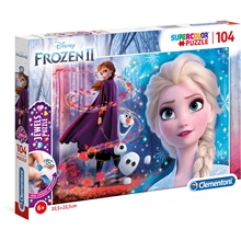 Pussel Frozen 2 Jewels 104 Bitar