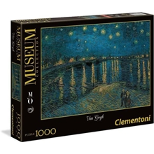 Pussel 1000 Bitar Starry Night Over the Rhone
