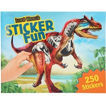 Dino World Stickersbok