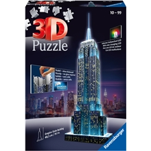 Pussel 3D Empire State Building LED