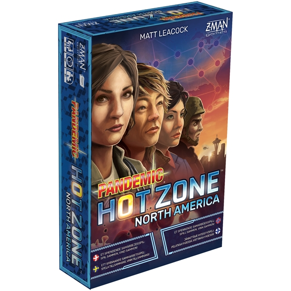 Pandemic Hot Zone North America (Bild 1 av 3)