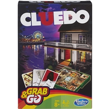 Cluedo Grab & Go Travel