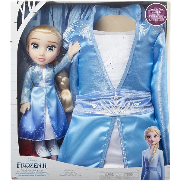 Frozen 2 Toddler Doll Elsa + Klänning