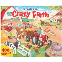 Creative Studio Crazy Farm Pysselbok