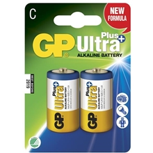 GP Batteries Ultra Plus LR14, 2-pack