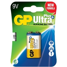 GP Batteries Ultra Plus, 6LF22, 9V 1-pack