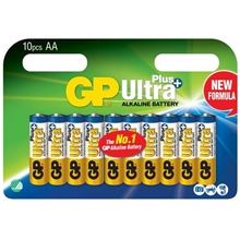 GP Batteries Ultra Plus AA, 10-pack
