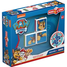 Geomag Magicube Paw Patrol Chase, Skye and Rocky