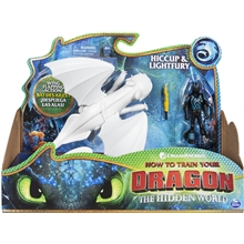 Dragons Hiccup & Lightfury
