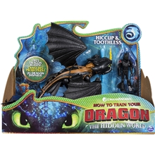 Dragons Hiccup & Toothless