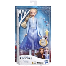 Disney Frozen 2 Light Up Fashion Doll Elsa