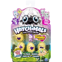 Hatchimals Colleggtibles 4-pack Bonus S3