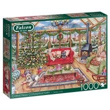 Pussel 1000 Bitar Christmas Conservatory