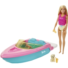 Barbie Doll & Boat