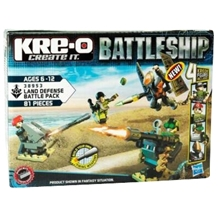 Kre-O Battleship Land Defense Battle Pack 38953