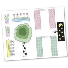 Lundby Sticker Set Blommor