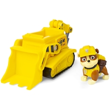 Paw Patrol Rubble och Bulldozer