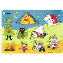 Mumin Knoppussel Camping