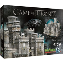 Wrebbit 3D Pussel Game of Thrones Winterfell