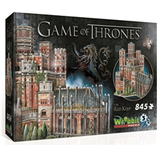 Wrebbit 3D-pussel Game of Thrones Red Keep