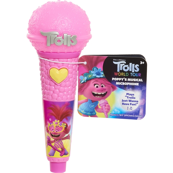 Trolls World Tour Microphone (Bild 1 av 2)