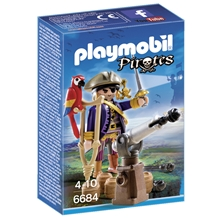6684 Playmobil Piratkapten