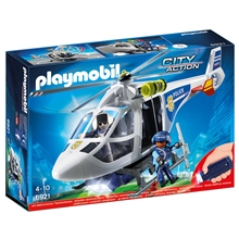 6921 Playmobil Polishelikopter med LED-sökljus