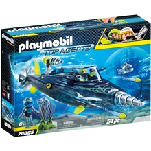 70005 Playmobil TEAM S.H.A.R.K Attackborr
