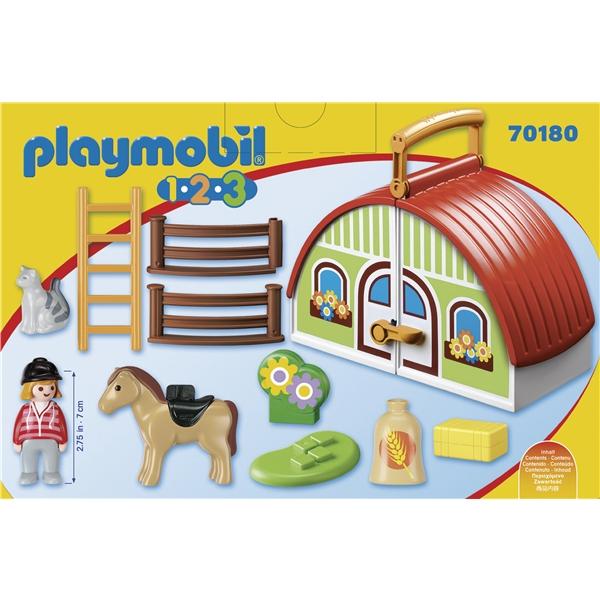 70180 Playmobil Min Gård Att Ta Med