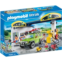 70201 Playmobil Stor Bensinstation