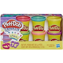 Play Doh Sparkle Compound Collection