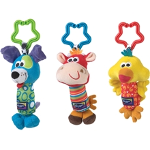 Playgro Vagnleksak 3-Pack